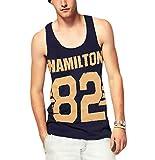 KINGDESON Men's Summer Casual Sleeveless Vest Tank Top T-Shirt