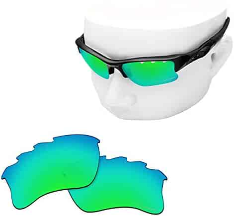 3b09fa7698 OOWLIT Replacement Lenses Compatible with Oakley Flak Jacket XLJ Vented  Sunglass
