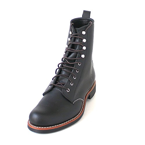 Leather Boots boundary 3361 Schwarz Womens Silversmith black Red Wing XOI1BOx