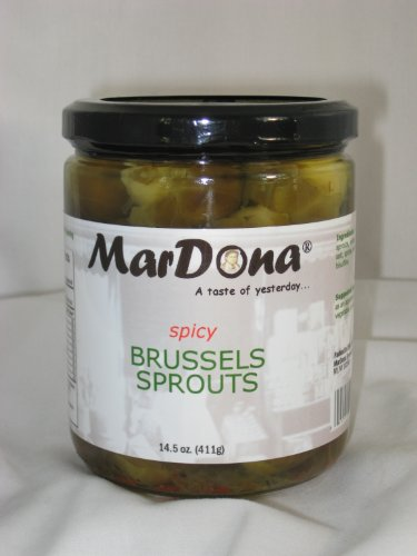 MarDona 14.5oz Spicy Brussels Sprouts