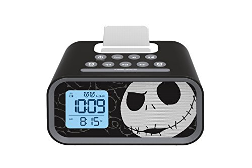 Nightmare Before Christmas Jack Skellington Dual Alarm Clock