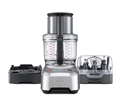 Breville Sous Chef 16 Peel & Dice All-In-One Food Processor Bundle w|Peeling and 12mm Dicing Attachment - BFP820