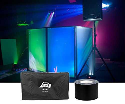 American DJ Event Facade White Scrim Light Weight+Travel Bag+Gaffers Stage Tape