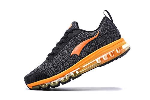 Zapatillas de Dilize Running Grey Adultos Black Orange de Unisex competición OneMix 5wFFxEqf
