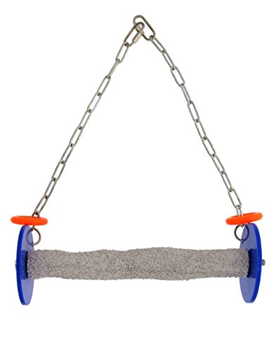 Sweet Feet and Beak Roll Swing and Perch for Birds, Keeps Nails and Beak in Top Condition and Stimulate Leg Muscles - Safe and Non-Toxic, For Cages - Various Colors and Sizes Available by Sweet Feet and Beak
