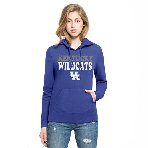 '47 NCAA Kentucky Wildcats Women's Headline Pullover Hoodie, Medium, Royal