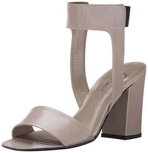 Delman Dress Putty Women Abbie Sandal Kidskin rwUFrWxBgq