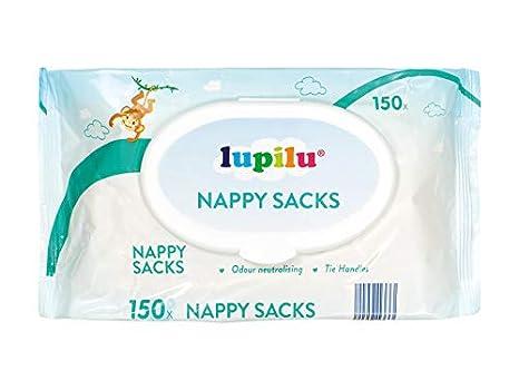 Lupilu 150 bolsas de desechar pañales para bebé: Amazon.es: Bebé