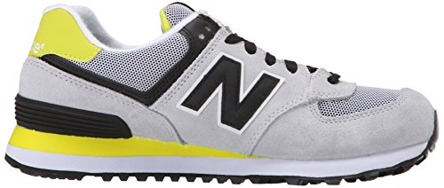 Wl574v1 Multicolore Black Yellow Balance Donna Sneaker New Grey fnWqFAa7