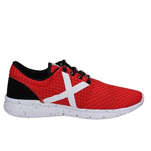 rosso Sneakers tessuto Munich uomo in da 6RYxpwnO