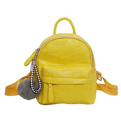 en sacs Sacs cuir à à adolescente bandoulière Yellow jeunesse Sac pour Mode est Mochila à petit dos dos VHVCX Sacs Pu Femme nouvelle école à dos Femmes qP0wgxvgp