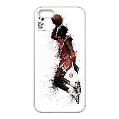3a892b0caaf [HuangJinYeCha® Series] - Michael Jordan Theme - Case for iPhone 4 4s  [White] iPhone 4 4s Cover - FHD5046: Amazon.co.uk: Electronics