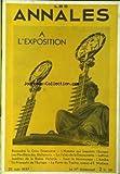 ANNALES (LES) du 25/06/1937 - EXPOSITION - LES PAVILLONS DES DICTATURES - PALAIS DE LA DECOUVERTE - LA REINE VICTORIA - L'AMIBE - E. WALLACE.
