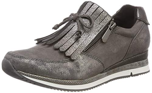 on Damen Sneaker Dk Comb 225 225 grey 24702 Slip MARCO 2 TOZZI 21 Grau 2 5wTq8CT