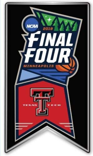 (Elusive Dream Marketing Services 2019 Mens Final Four PIN Basketball NCAA Texas TECH RED Raiders March Madness College)