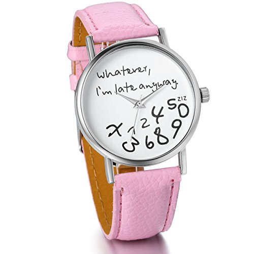 JewelryWe Unisex Whatever Leather Watches product image