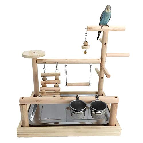 WYunPets Parrots Playstand Bird