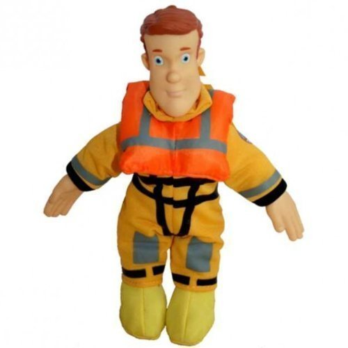 Fireman Sam 8 Inch Plush Collectables - Boat Rescue (Animal Rescue Boat)
