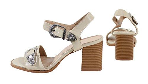 Abricot Shoes para by Mujer Sandalias IPqwvSUw