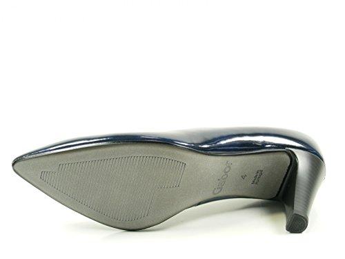 Gabor Womens Shoes 61.280.70 Pumps Da Donna, Scarpe Con Tacco Blu