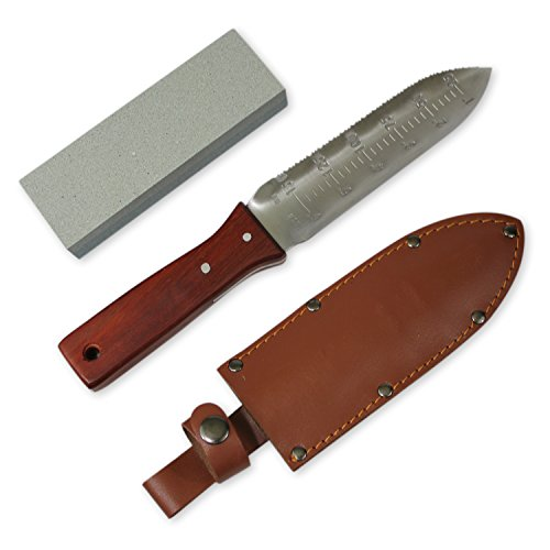 Greentisory-Hori-Hori-Knife-with-Leather-Sheath-and-Large-Whetstone-Best-Digging-Tool-in-Garden-Knives