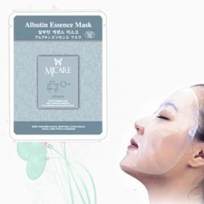 Natural Beauty Arbutin Essence Full Face Mask 10 Pcs