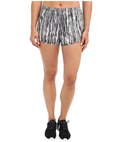 Nike Women's Printed Modern Tempo Running Shorts, Black/White, Medium