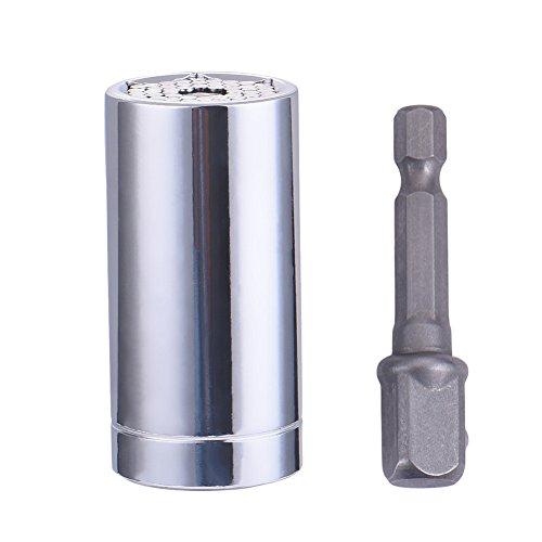 Drillpro Profi Steckschlüssel Gator Grip ETC-120A Multi Funktions Handwerkzeuge Universal Reparatur Werkzeuge 7-19mm