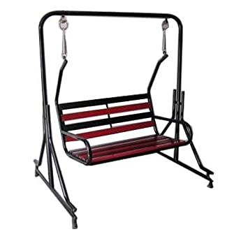 Kaushalendra Garden Zula Swing For Home Indoor With Stand Jhula Porch Swing Jhoola
