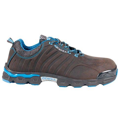 Cofra JE014-000.W43 Slowplay S3 SRC Chaussures de sécurité Taille 43 Marron