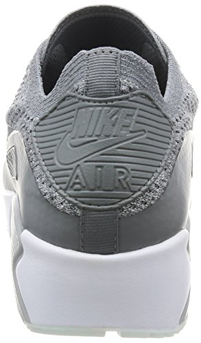 NIKE AIR MAX 90 ULTRA 2.0 FLYKNIT Reines Platinum / Cool Grey White