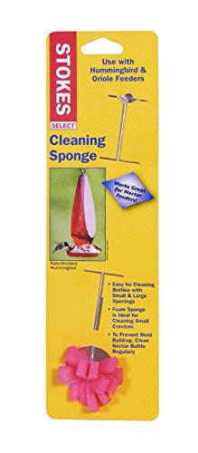 HIATT MANUFACTURING, Feeder Cleaning Sponge, EA