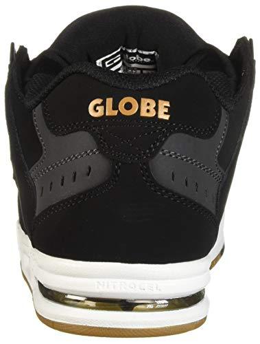 de Deporte Hombre Dorado Negro Zapatillas GlobeSabre 5fqpFOw