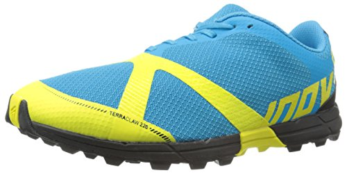 Inov-8 Men's Terraclaw 220 Trail Running Shoe, Blue/Lime/Black, 13 D US