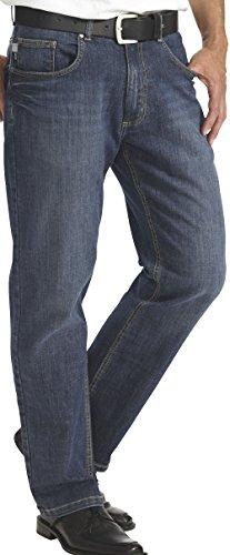 HENSON&HENSON Herren Jeans New Style, blau, Gr: 24 - 58