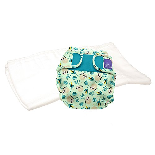 Swinging Sloth Bambino Mio Miosoft Nappy Cover Size 1 Less Than 9 kg
