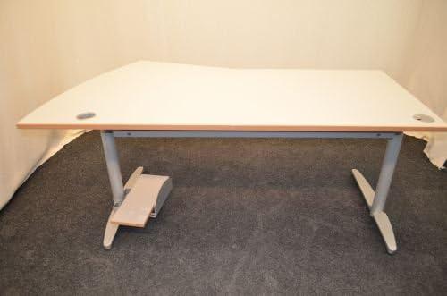 Mesa de escritorio, de colour blanco de la placa de, 180 x 100, PC ...