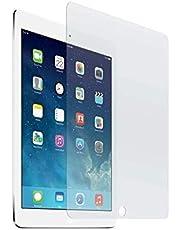"""Hanylish Mica Vidrio Templado para iPad 7 y 8, 10.2"""" Pulgadas 2019 y 2020 A2270 A2428 A2429 A2430, Dureza 9H, Bordes Curvos, 99% de Claridad (Producto frágil, abrir con cuidado)"""