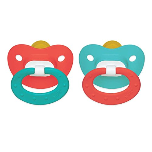 6-18 Month Colors May Vary Latex New NUK Orthodontic Pacifiers