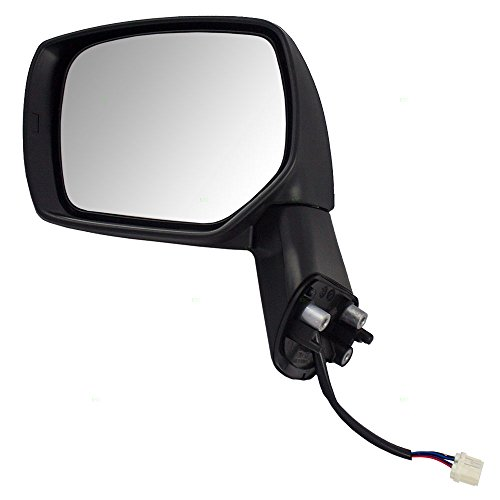 - Drivers Power Side View Mirror Heated Ready to Paint Replacement for Subaru 91036FJ210