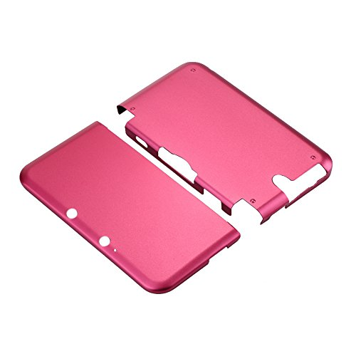 Aluminium Hard Shell Case Skin Cover For Nintendo 3DS XL LL (Red) - 3