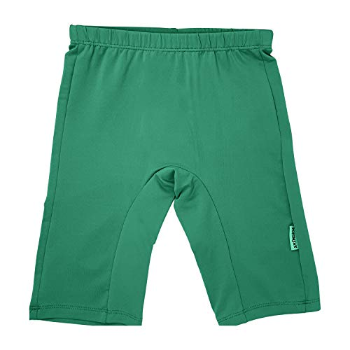 b9c5c2cb66 POPINJAY Boys Girls' SPF50+ Jammers Swim Shorts Bottoms (Emerald Green, 7)