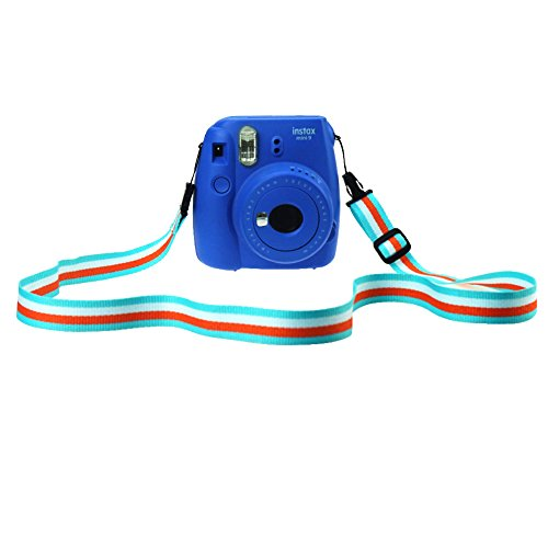Blummy Camera Shoulder Strap Neck Belt for Fuji Instant Mini Camera, Polaroid Camera, Digital Camera, Nikon Camera, Cannon Camera, Samsung Camera (Color 6)
