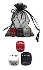 Dice Game for Couples - Set of 3 Dice Pl...