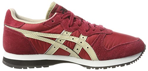 Adulte beige Rouge Basses Asics Mixte Runner Oc Sneakers qvXx0wUO
