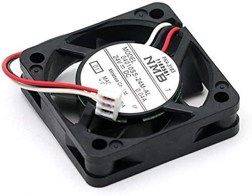 Original For NMB 04010SS-24M-AL 4010 24V 0.04A 40mm 404010mm silent quiet axial mini cooling fan