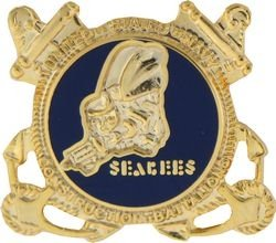 Seabees Lapel Pin or Hat Pin by KCM