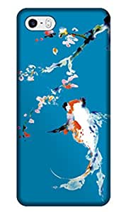 Sangu Cherry Blossom Print in Hard Back Shell Case / Cover for iphone 5 and 5s(Style8)