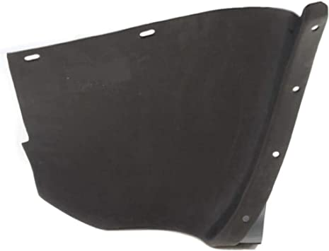 For Chevy Corvette Splash Guard//Fender Liner 2005-2013Front Passenger Side