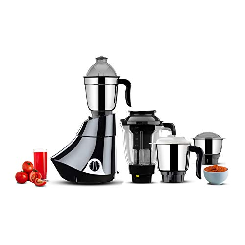 Butterfly Smart 750W Mixer Grinder with 4 Jar, Grey